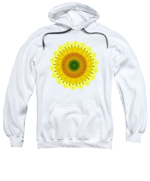 Happy Sunflower Mandala By Kaye Menner Sweatshirt