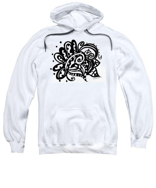 Happy Swirl Doodle Sweatshirt