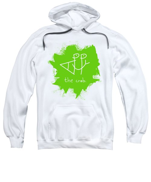 Happy The Crab - Green Sweatshirt