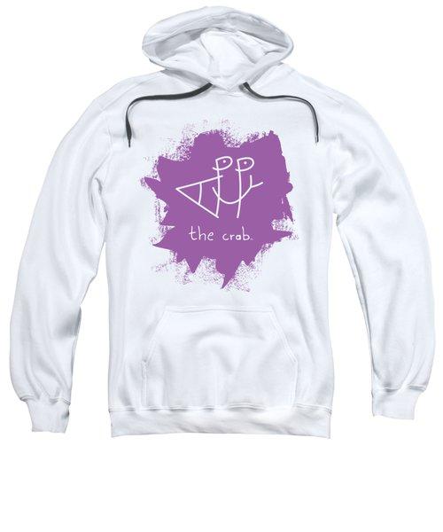 Happy The Crab - Purple Sweatshirt