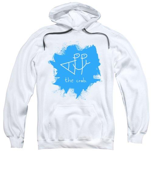 Happy The Crab - Blue Sweatshirt