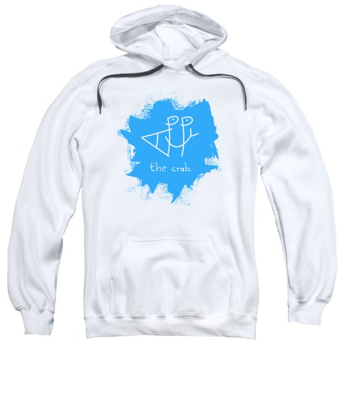 Happy The Crab - Blue Sweatshirt