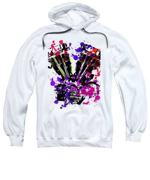 Harley Davidson Pop Art 3 Sweatshirt