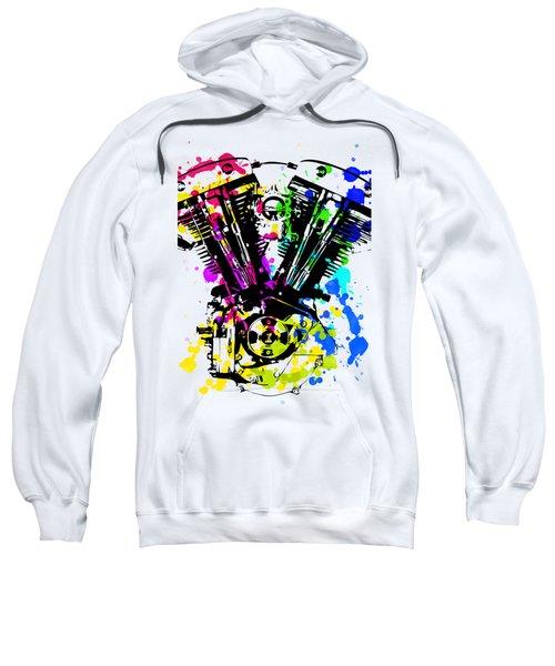 Harley Davidson Pop Art 4 Sweatshirt