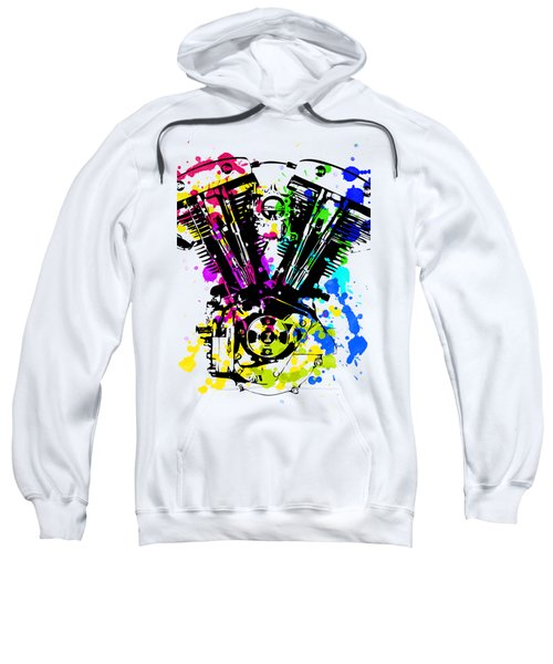 Harley Davidson Pop Art 4 Sweatshirt