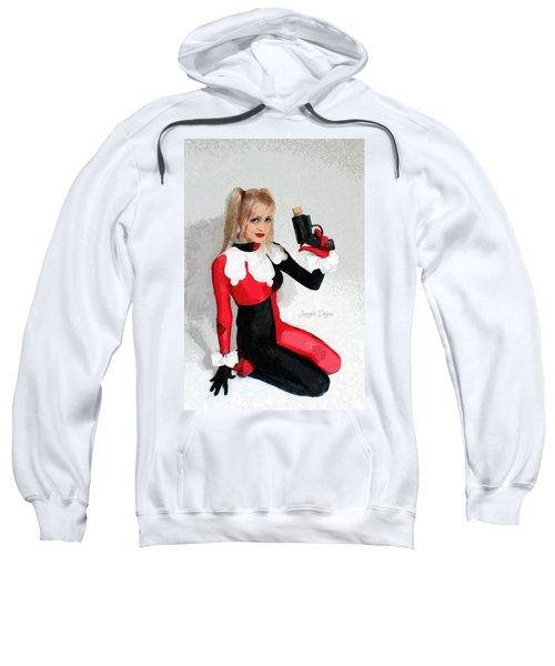 Harley Quinn And Pistol - Da Sweatshirt