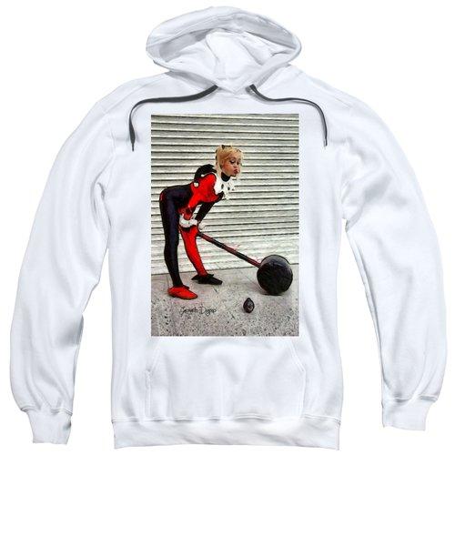 Harley Quinn Classic  - Free Style -  - Da Sweatshirt