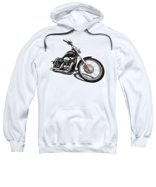 Harley Sportster Xl1200 Custom Sweatshirt by Gill Billington