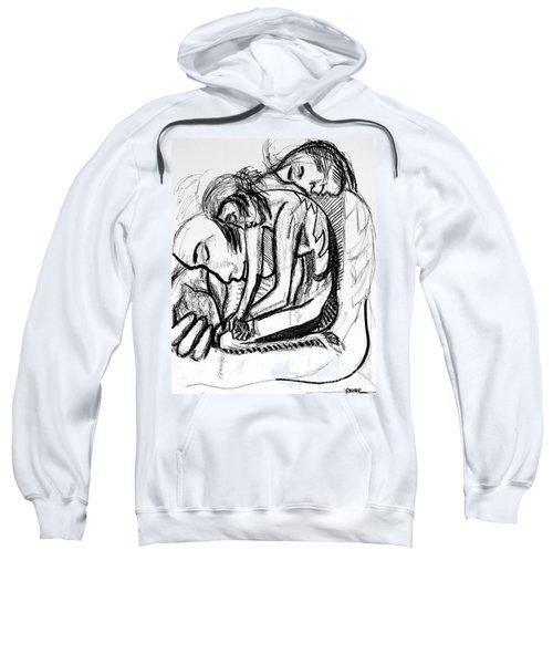 Harmony  Study For The Emancipation Of A Woman Sweatshirt