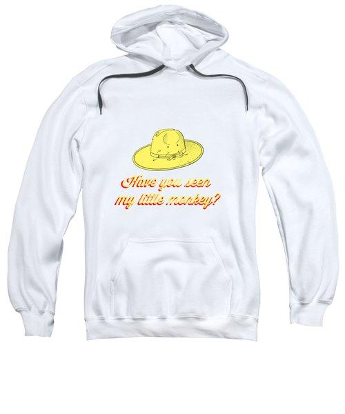 Have You Seen My Little Monkey Tee Sweatshirt by Edward Fielding
