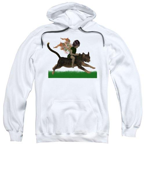 Having Fun Sweatshirt by Nancy Pauling