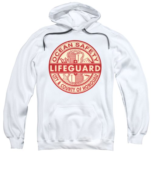 Hawaii Lifeguard Logo Sweatshirt by Mr Doomits