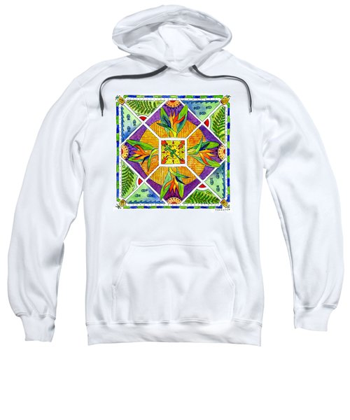 Hawaiian Mandala II - Bird Of Paradise Sweatshirt