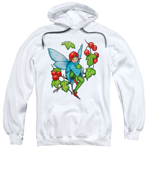 Hawthorn Fairy After Cicely Mary Barker Sweatshirt