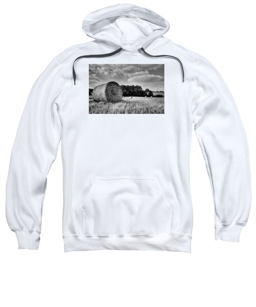 Hay Race Track Sweatshirt by Jeremy Lavender Photography