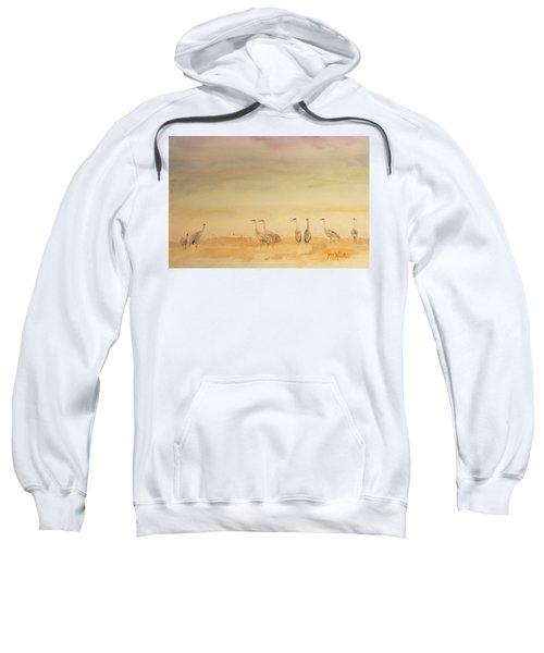 Hazy Days Cranes Sweatshirt