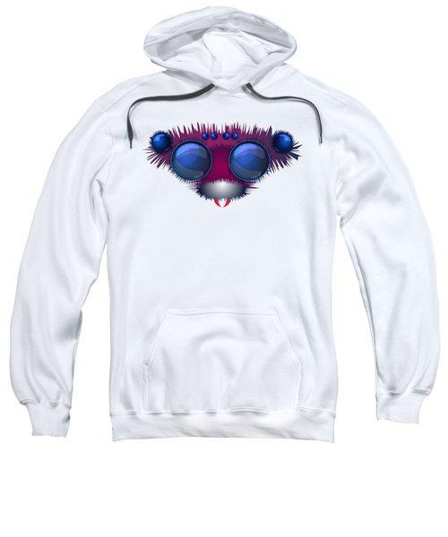 Head Of The Big Hairy Spider Sweatshirt