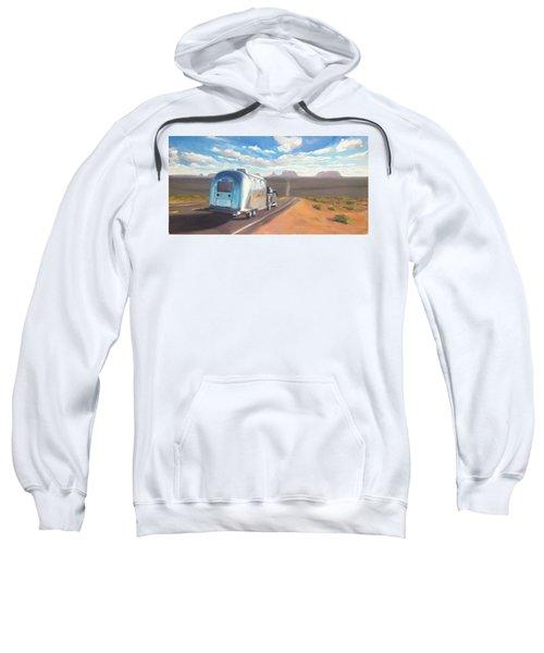 Heading South Towards Monument Valley Sweatshirt
