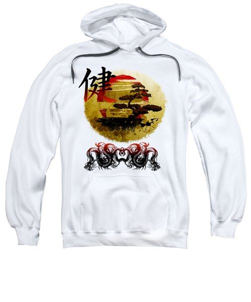 Health Oriental Symbol Sweatshirt
