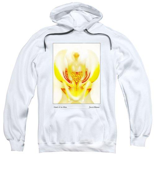 Heart Of An Alien Sweatshirt