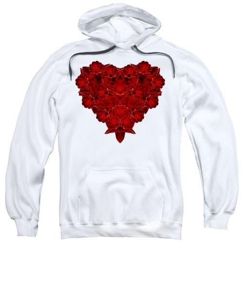 Heart Of Flowers T-shirt Sweatshirt by Edward Fielding
