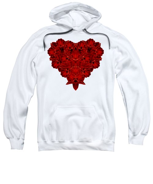 Heart Of Flowers T-shirt Sweatshirt