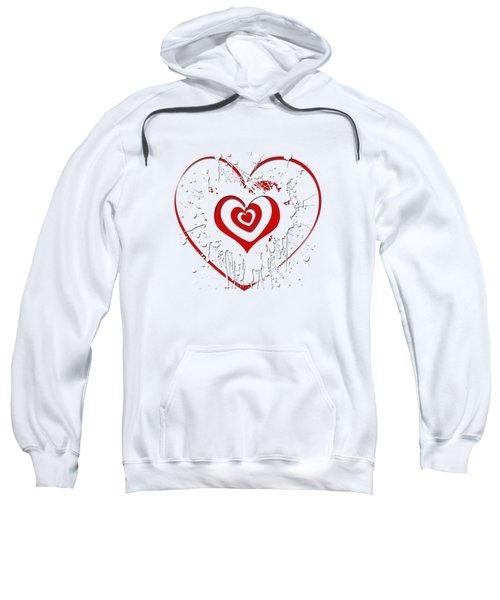 Hearts Graphic 2 Sweatshirt