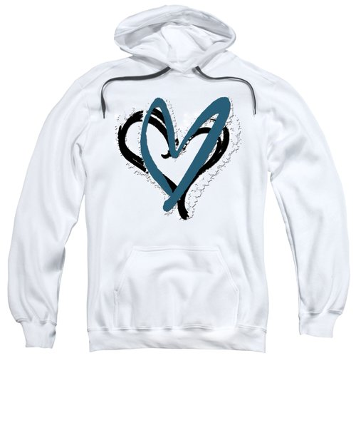 Hearts Graphic 8 Sweatshirt