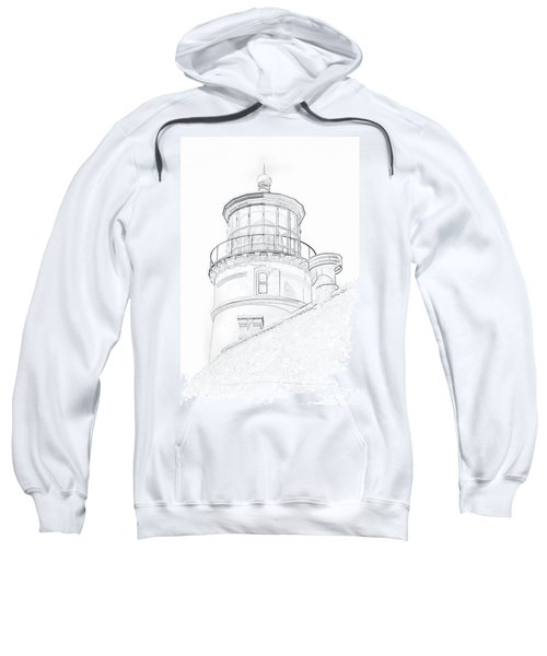 Hecitia Head Lighthouse Sketch Sweatshirt