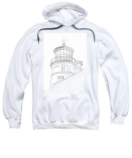 Hecitia Head Lighthouse Sketch Sweatshirt