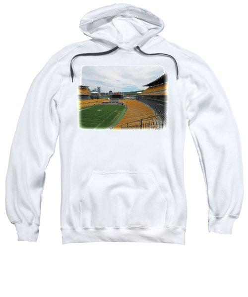Heinz Stadium With Pittsburgh Skyline Sweatshirt