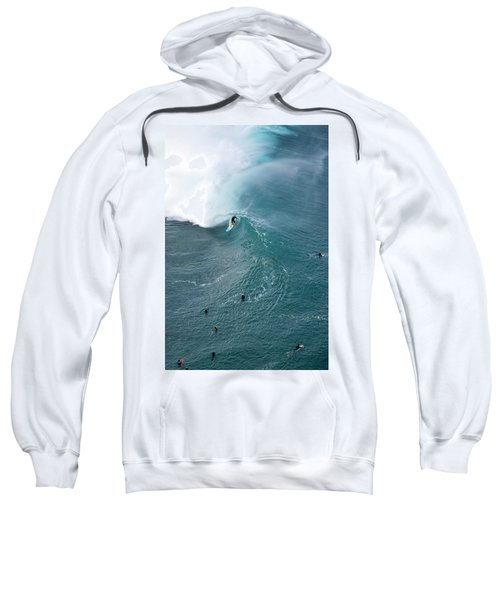 Tubed From Above. Sweatshirt