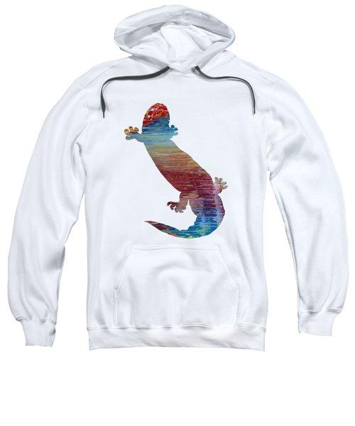 Hellbender Salamander Sweatshirt