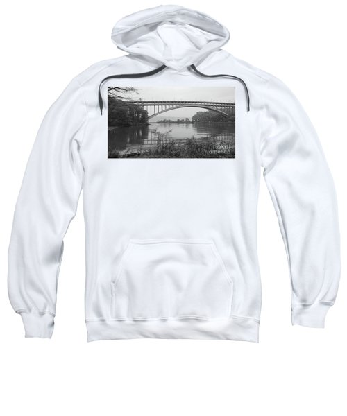 Henry Hudson Bridge  Sweatshirt by Cole Thompson