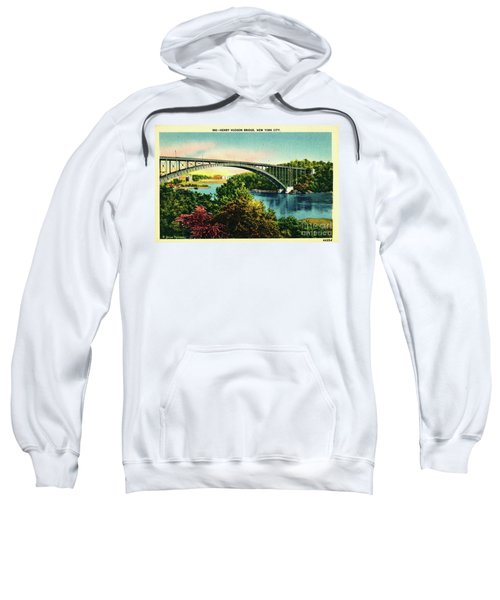 Henry Hudson Bridge Postcard Sweatshirt