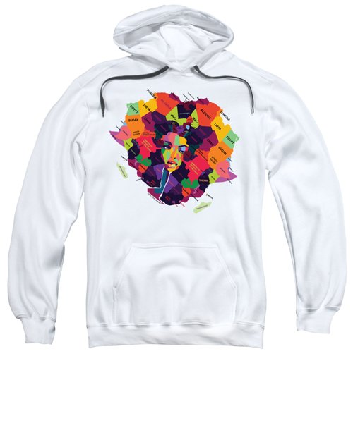 Deeply Rooted In Her - Africa Sweatshirt
