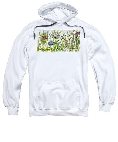 Herbs And Flowers Sweatshirt