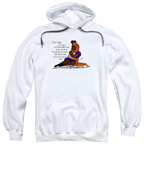 Here For You Sweatshirt by Diamin Nicole