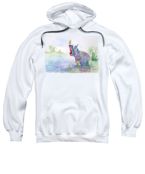Hey Whats The Big Idea Sweatshirt by Amy Kirkpatrick
