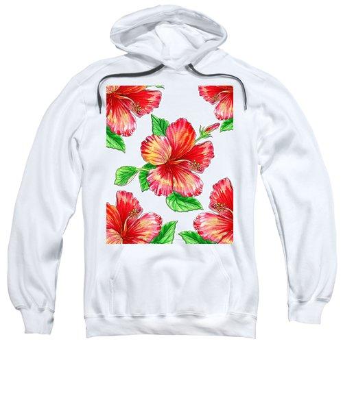 Hibiscus Magic Garden Sweatshirt