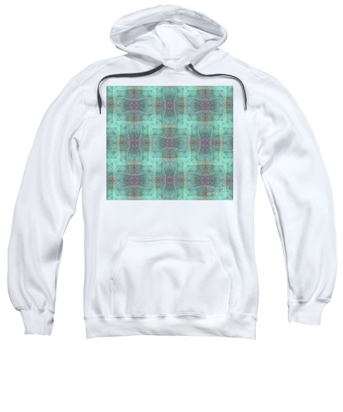 Hidden Butterfly Print Sweatshirt