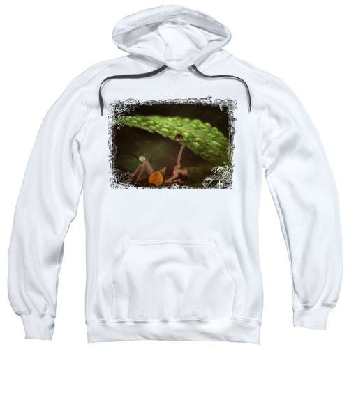 Hiding From The Storm Sweatshirt by Terry Fleckney