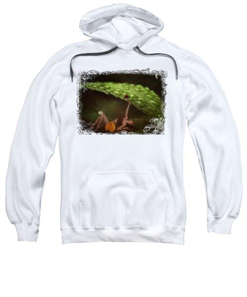 Hiding From The Storm Sweatshirt