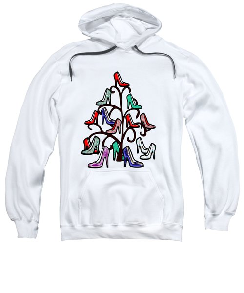 High Heels Tree Sweatshirt by Anastasiya Malakhova
