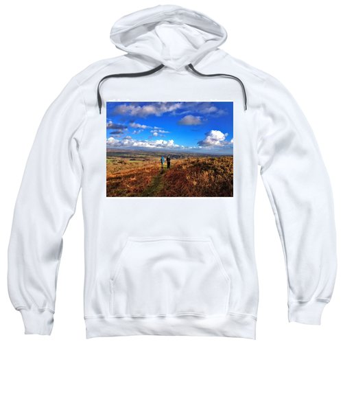 Hiking With College  #college #hike Sweatshirt