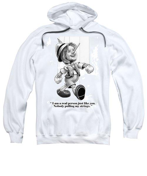 Hillary Puppet Sweatshirt by Murphy Elliott