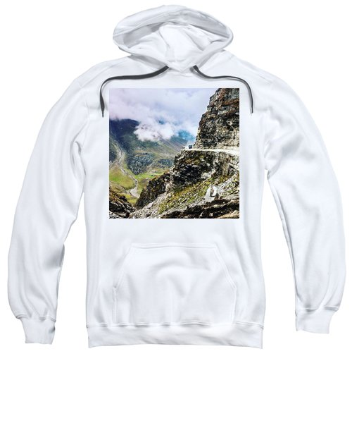Himalayan Roads Are Good For Your Sweatshirt