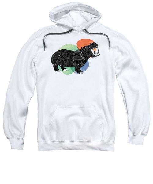 Hippo Sweatshirt by Serkes Panda