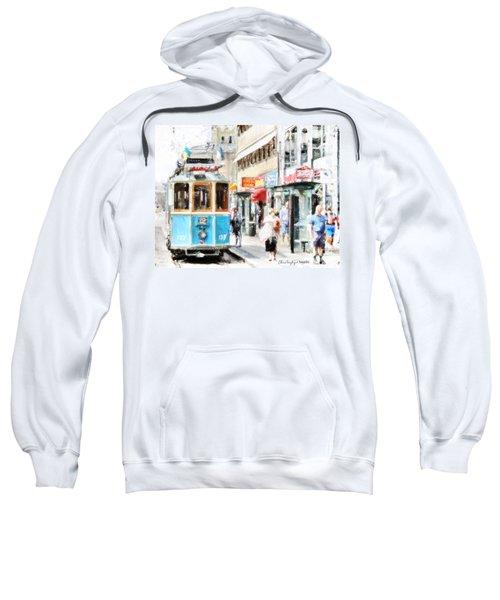 Historic Stockholm Tram Sweatshirt