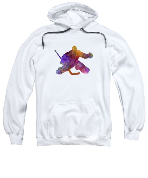 Hockey Porter In Watercolor Sweatshirt
